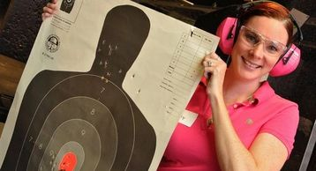 partnership NRA USCCA 5150 HEAT Firearms Training Academy offer men women training courses ccw safe
