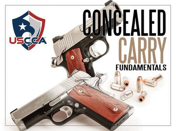 USCCA CONCEALED CARRY FUNDAMENTALS COURSES