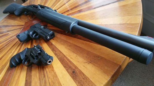 Advanced Tactical Combat shotgun Pistol Training learn self-protection Personal Home defense Plan