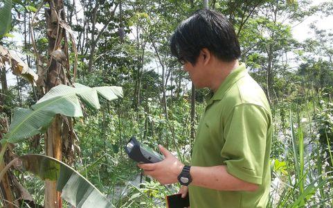 Scientists conducting field research in South East Asia, Environmental Monitoring,Program Evaluation