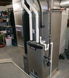 This furnace along with our reliable technicians will solve all your heating & cooling needs.