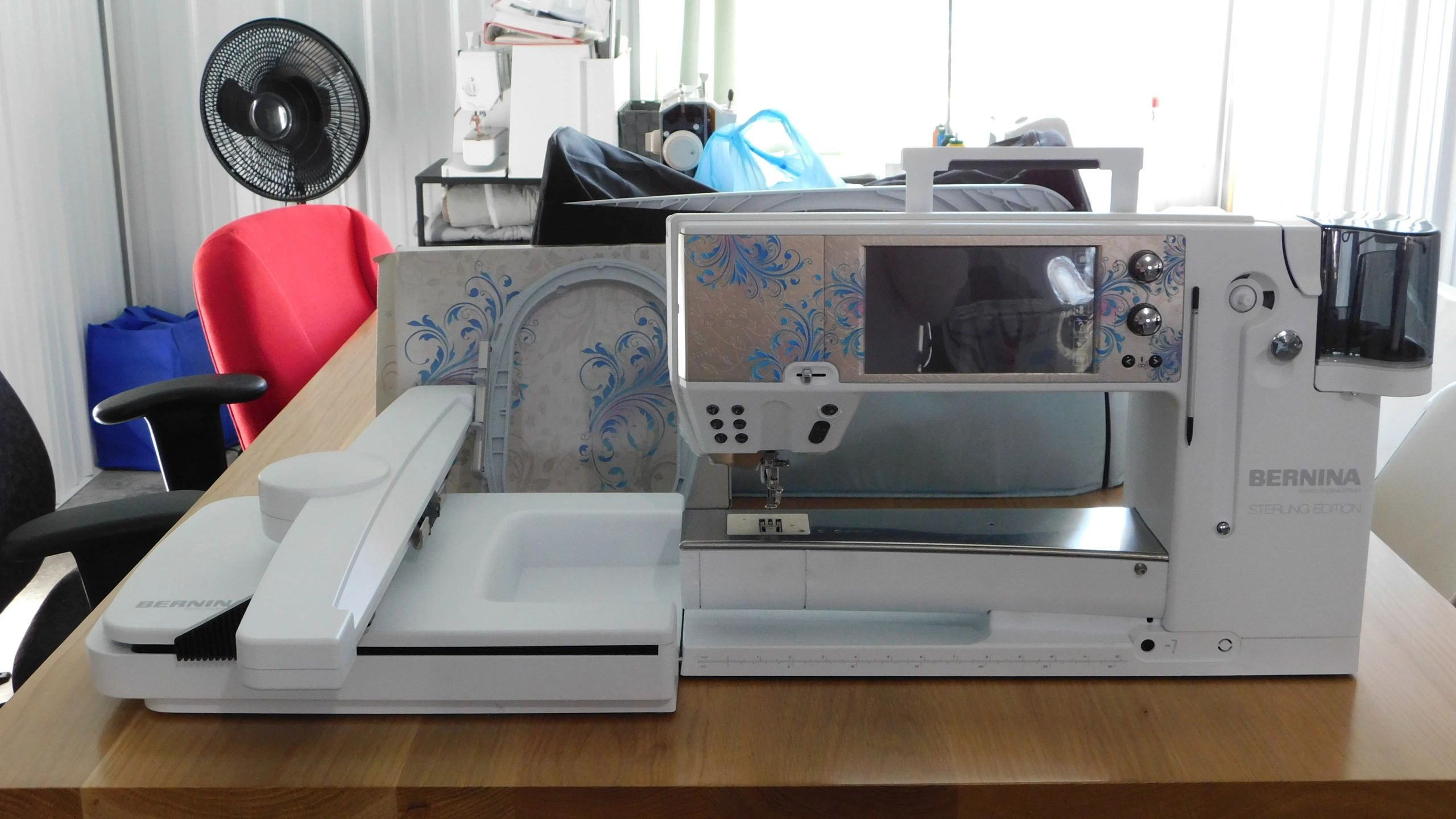 used bernina b 880 sterling edition for sale