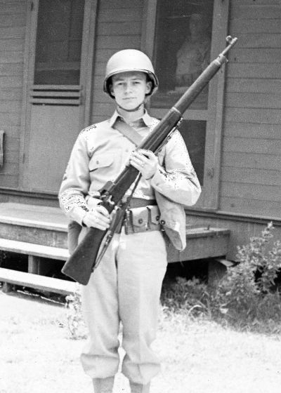 WW 2 Army Soldier Richard Perkins