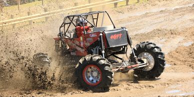 The Mega Mud Truck Races are the highlight of the weekend!  Gather 'round the Main Mud Track at 2pm