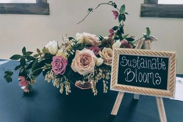 Our Sustainable Blooms florist services.