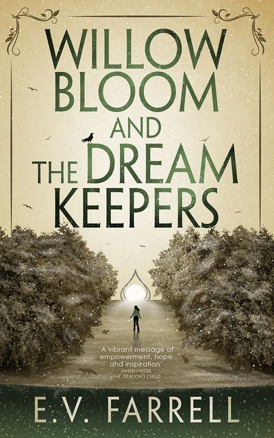 Novel Cover, Willow Bloom and the Dream Keepers.