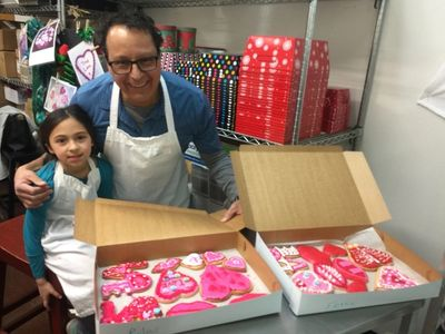 cookie decorating classes from Bend Cookie Company