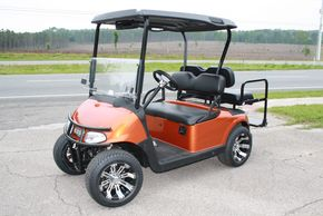 EZGO RXV customized by Creative Custom Carts in Alachua, Florida