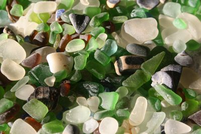 sea glass, beautiful and every piece unique (photo by kerri)