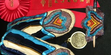 2010 -- 2nd place Bead work art