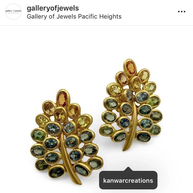 Find this Creation at the Pacific Heights Gallery of Jewels.⠀⠀⠀⠀⠀⠀⠀⠀⠀