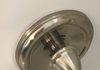 Shower escutcheon plate is dented