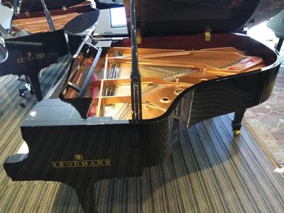 Brodmann PE187 grand piano in Fort Lauderdale Florida based on the Steinway grand piano model A.