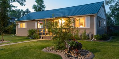 Real Estate Twilight in Southeast Montana