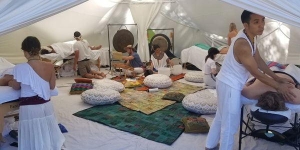 wellness space, sound healing, spa ship,
