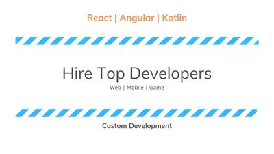 Hire Top Talent in Industry. Best Web and Mobile Developer for hire. Reliable and Experienced Devs.
