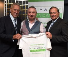 Martin Chivers Gary Mabbutt Ray Clemence Spurs Legends Paul Coyte Lillywhite Foundation