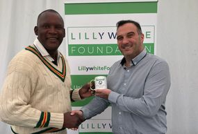 Devon Malcolm, Wormsley, cricket, Lillywhite Foundation, Paul Coyte, Ossie Ardiles, Michael Vaughan