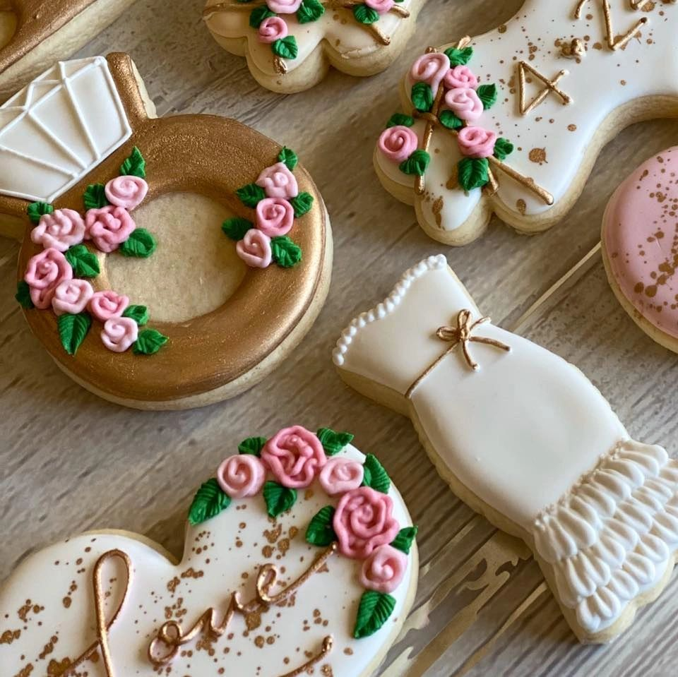 Custom cookies made by Simply Cakes, Windsor, CO. Photo Credit: Simply Cakes