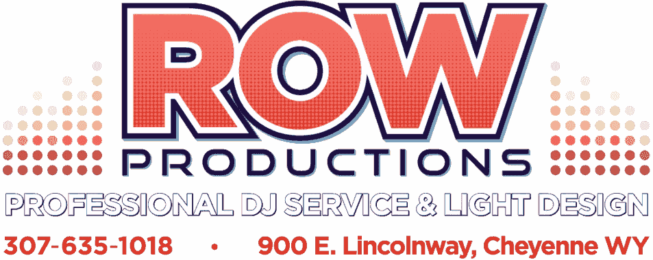 ROW Productions (Rock on Wheels) DJ Service & Light Design serving southeast WY and Northern CO.