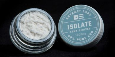 Extract labs Isolate pure CBD