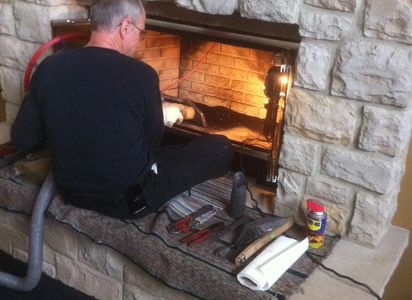 Fireplace inspection and chimney cleaning & repair is vital for a safe home.  Hadley Chimney Sweep