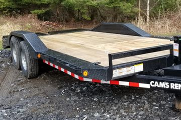 20' Equipment trailer 16k