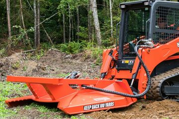 skid steer mower attachement