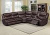 KELLIWOOD Choco Leather Gel (2 Recliners + 1 Console & Storage & Cupholders)