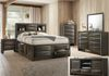 Gray (Bedframe Queen $599 or King $799 + Mirror $99 + NS $149 + Chest $249 + Dresser $299)