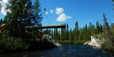 With appropriate construction mitigation, bridges are often considered low risk by environmental regulators.