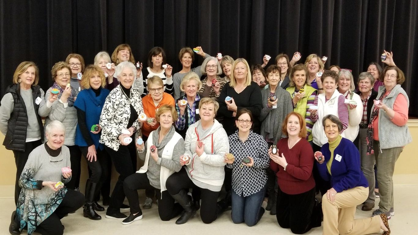 "St. Andrews Woman's Club Let Us Forget Not To Be Kind.  Kindness ""ROCKS""!"