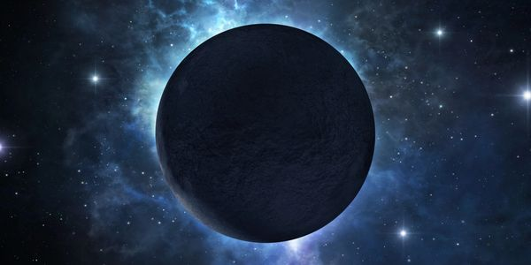 planet with eclipse