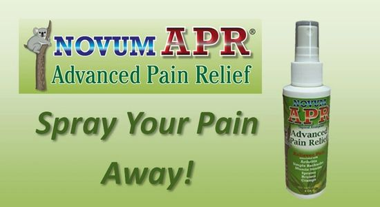 Novum APR Advanced Pain Relief Spray