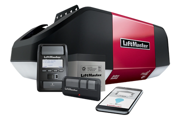 New Liftmaster garage door opener