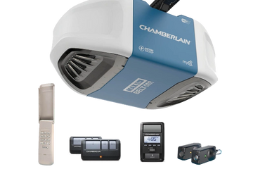 Chamberlain® 1-1/4 HP Wi-Fi Belt Drive Garage Door Opener with Battery Backup