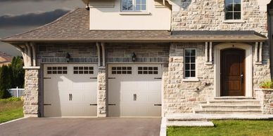 Doorlink MFG 3630 Grooved Panel Garage Door