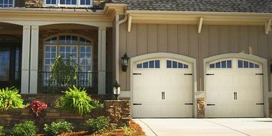 DoorLink Mfg 3640 Grooved Ranch Panel Garage Door