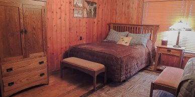 Guest Rooms at The North Platte Outpost by Cheyenne Ridge Outfitters