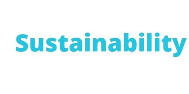 Sustainability is part of our corporate vision and culture.