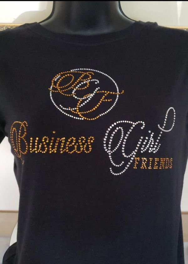 Join The Movement by purchasing your very own Business GirlFriends T-shirt TODAY!!