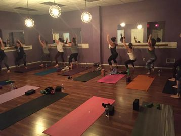 Barre Class, Twisted Barre, Barre AMPED
