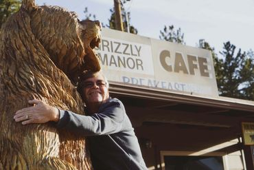Grizzly Manor Cafe owner Jayme Nordine