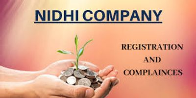 Get Nidhi Company Registration @ affordable prices.