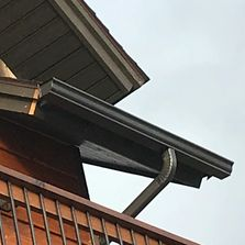 Gutters Staining Brothers Seamless Gutters Grand Lake