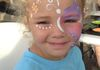 What little girl doesn't want  her face painted!