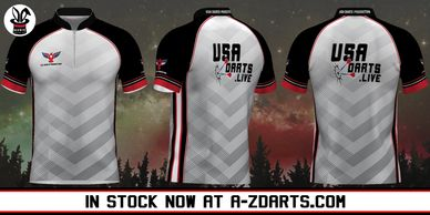USA Darts Jersey V3 found on A-ZDarts.com