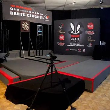 USA Darts live streaming a remote event example of the championship darts circuit.