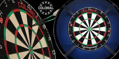 Colonial Steel Tip Dart Board.