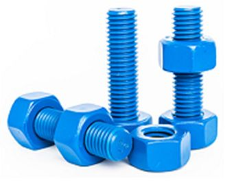 Xylan coated bolts.